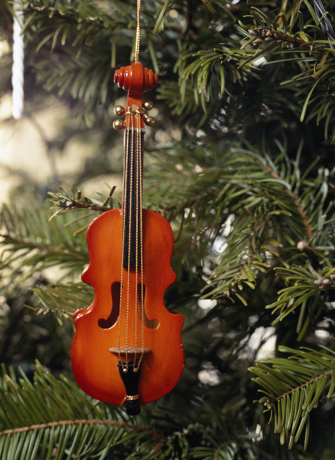Violin christmas ornaments - Holiday Violin Songs